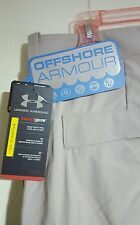Under Armour Fishing Hybrid Cargo Pants With Zip Off Shorts: 42×32 (NWT) 1243159