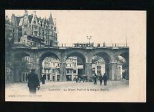 Switzerland LAUSANNE Grand Pont Maison Mercier c1902 u/b PPC