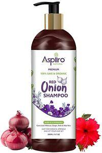 Aspiiro Natural Organic Red Onion Shampoo For Hair Fall Rescue,hair Growth-200gm