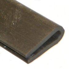 15 X 5.5mm ajuste del borde Ribete De Canal U De Goma Para 1 paneles a 2mm Por Metro