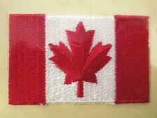 Canada Canadian Flag Embroidered Iron On Patch