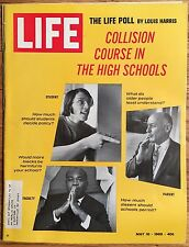 LIFE MAGAZINE May 16 1969 * Apollo 10 &11 * Paul Newman * Crisis in High Schools