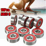 10/20/50/100pcs Roller Skate Skateboard Ball Wheel Bearing ABEC-5/7/9 608 RS 2RS