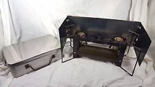 Vintage US Military Army 2 burner Field Camp Stove APC WWII or Later