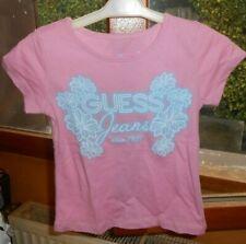 tee-shirt GUESS rose/bleu taille 2 ans - neuf