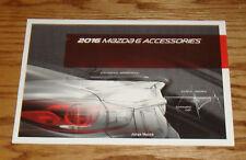 Original 2016 Mazda Mazda6 6 Accessories Sales Brochure 16