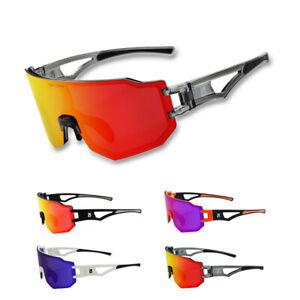 Photochromic Cycling Sports Sunglasses Road Bike Bicycle Riding Glasses 3 Lenses