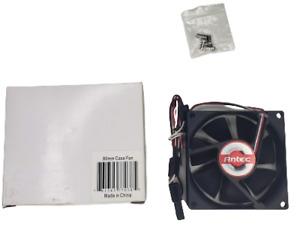 Antec 80mm Case Fan Black NEW!