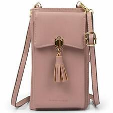 Women Rfid Blocking Credit Card Wallet Purse Cell Phone Crossbody Small Bag