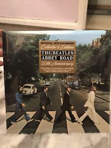 The Beatles Fab Four Official Calendar 2020 Official Licensed Collectors Edition