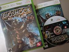 BioShock  **XBOX 360** Microsoft **COMPLETE **USA** **US SELLER**