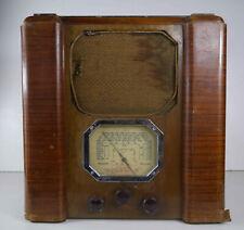 Poste récepteur radio TSF Tecalemit Super 58  art déco à restaurer