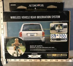 Audiovox Wireless Vehicle Rear Observation System Backup System ACA250 In Box