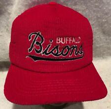 BUFFALO BISONS baseball hat Cleveland Indians minors AAA retro New Era Corduroy