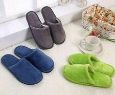 Candy Color Warm Home Slipper Women Bedroom Winter Indoor Slides PVC Flock Flat