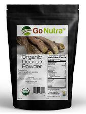 Licorice Root Powder Organic Certified 8oz Glycyrrhiza Glabra