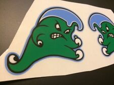 Tulane Green Wave Helmet Decals Angry Wave - Fullsize Football
