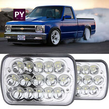 5x7 7x6 Led Headlights H6054 Bulb Hi Low Sealed Beam For Chevy S10 Sonoma 2pcs