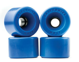 65mm STAR-TRAC KRYPTONICS  Skateboard Wheels  - Blue Kryps / Kryptonic