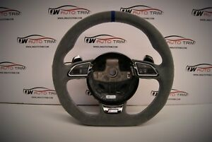 Audi R8 RS6 TTRS RS3 SQ5 steering wheel retrimming any colour stitch/material