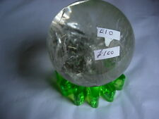crystal ball clear quartz number 10