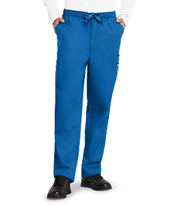 NEW NWT Mens 5X 56 / 58 Royal Blue Nurse Medical Dental Hospital Scrub Pants