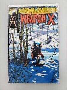 WOLVERINE Marvel Comics Presents #77 Marvel Comics ** WEAPON X **