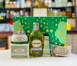 30%OFF L'Occitane Xmas Almond Gift Box Shower Oil Body Milk Hand Cream Soap