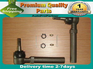 2 OUTER TIE ROD END SET FOR BUICK RENDEZVOUS 02-07 TERRAZA 05-07