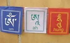 Tibetische GEBETSFAHNEN - Mantra - für Balkon od. Terrasse - NEPAL