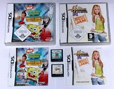 Jeux: Hannah Montana + Bob l'éponge en série-HITS/NINTENDO DS + LITE
