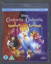 CINDERELLA 2 AND 3 - UK BLU-RAY SET - (as new/unplayed) - CINDERELLA II & III