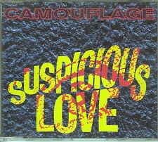 Camouflage CD-SINGLE  SUSPICIOUS LOVE   (c)  1993   /  4 VERSIONEN