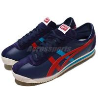 Asics Onitsuka Tiger Corsair Indigo Blue Classic Red Men Shoe Sneaker D7N2L-4923