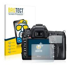 2x Brotect matt Schutzfolie für Nikon D7000 Displayfolie