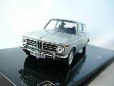 BMW 2002 TII 1972 SILVER IXO CLC253 1/43 SILBER ARGENT ARGENTE LEFT HAND DRIVE