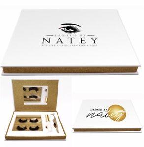 Luxurious Eyelash Gift Set. Buy One Get 2 extra pairs Of Lash For Free
