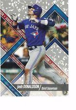 "2017 Topps High Tek Jubilation 5"" x 7"" #/49 Josh Donaldson Toronto Blue Jays"
