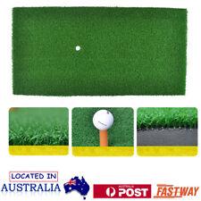 Nylon Golf Practice Mat Grass Driving Holder Outdoor Indoor Training Backyard OZ