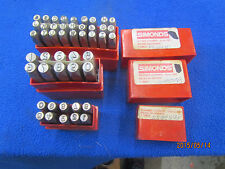 Number Stamps & Letter Stamps 3& 5 m/m                    B-0816-3