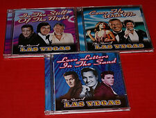 Lot Of 3 CDs The Satrs Of Las Vegas Near Mint Tom Jones Sinatra Como Charles Etc