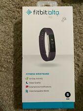 NEW Fitbit Alta Fitness Wristband Activity Tracker Plum