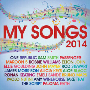 Various Artists : My Songs 2014 [NEw & Sealed] 2 CDs