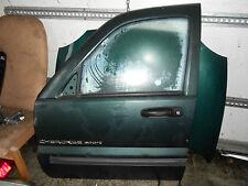 JEEP CHEROKEE KJ 2002 5 DOOR SET OF DOOR SHELLS X4 FRONT & REAR BARE GREEN