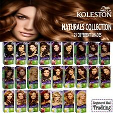 WELLA KOLESTON NATURALS HAIR COLOR KIT COLLECTION - 25 DIFFERENT SHADES