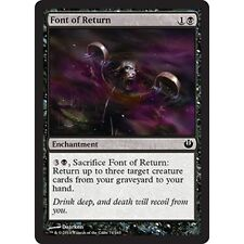 4x 4 x Font of Return x4 MTG Journey into Nyx  MINT PACK FRESH UNPLAYED