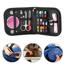 Mini Beginner Sewing Kit Case Set Supplies Adults Kids Home Travel Campers Craft