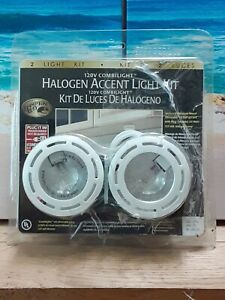 Hampton Bay Halogen Accent 2 Light Kit 20 Watt 120 Volt