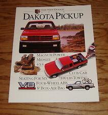Original 1995 Dodge Truck Dakota Pickup Sales Brochure 95