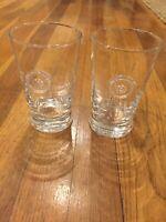 Juliska Set Of 4 Berry & Thread Glasses 2 DOF And 2 Iced Beverage
